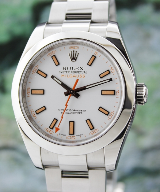 ROLEX STAINLESS STEEL OYSTER PERPETUAL MILGAUSS / 116400