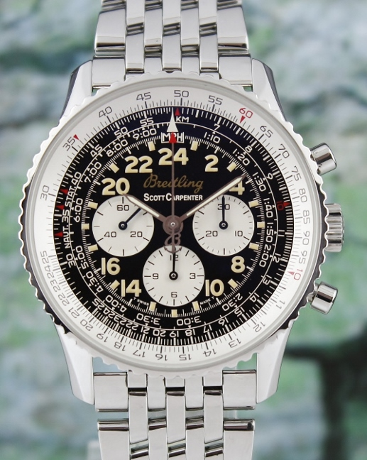 A BREITLING NAVITIMER COSMONAUTE SCOTT CARPENTER LIMITED EDITION / A12022