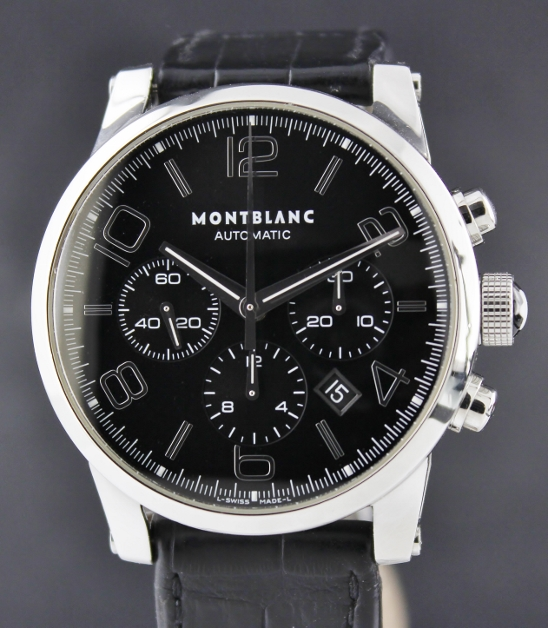 MONTBLANC TIMEWALKER AUTOMATIC CHRONOGRAPH STAINLESS STEEL / 102365