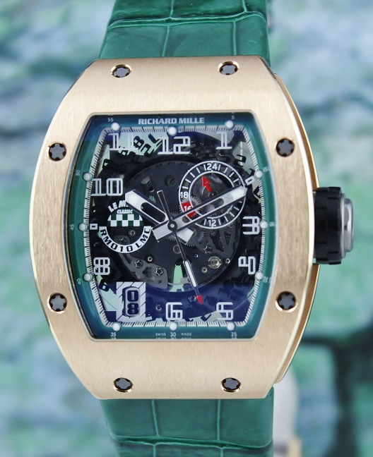 UNPOLISHED Richard Mille RM 10 In 18K Rose Gold Le Mans Classic Limited Edition