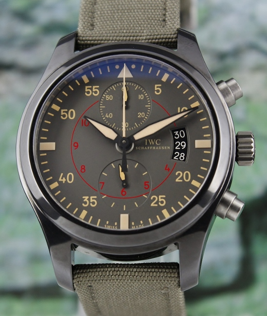 LIKE NEW PILOT'S WATCH CHRONOGRAPH TOP GUN MIRAMAR / IW388002
