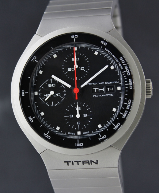 "A Like New Porsche Design Titanium Chronograph ""TITAN"" / P6530"