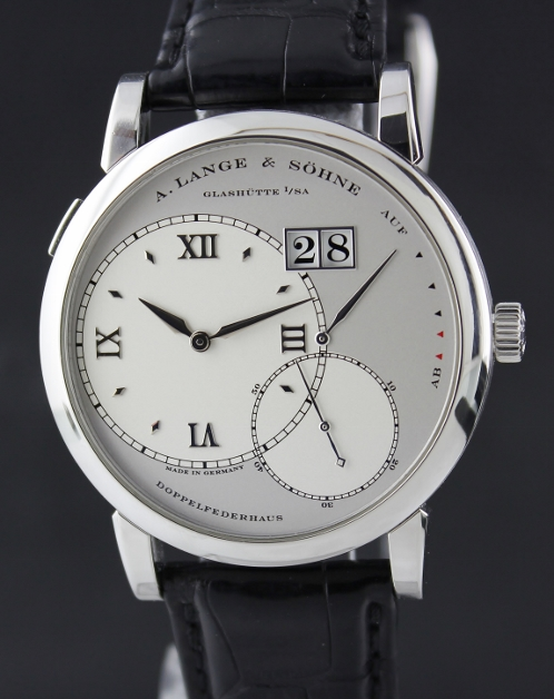 A. Lange & Sohne Grand Lange 1 (Platinum / Silver / Leather)