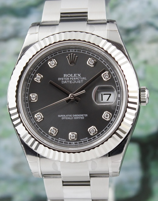 LIKE NEW UNPOLISHED ROLEX DATEJUST II OYSTER PERPETUAL - 116334
