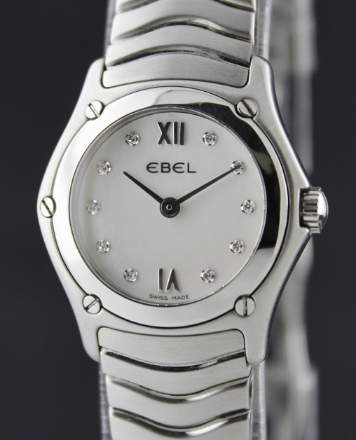 EBEL LADY FULL STEEL CLASSIC WATCH / MOP