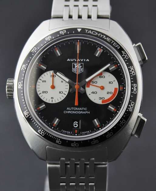 A Men Size Tag Heuer Chronograph Autavia Automatic Watch / CY2111