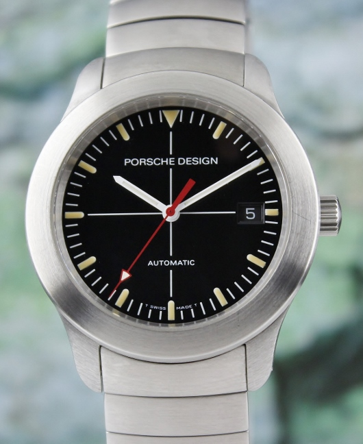 A PORSCHE DESIGN STAINLESS STEELAUTOMATIC WATCH
