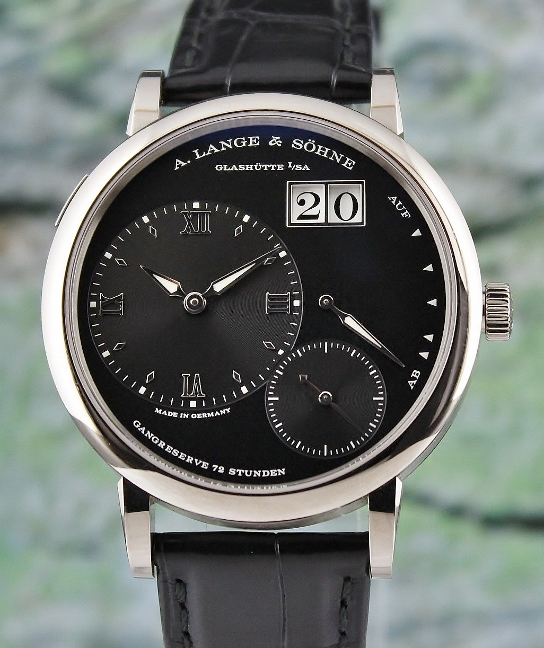 A. Lange & Sohne 18K White Gold Grand Lange 1 / 117.028