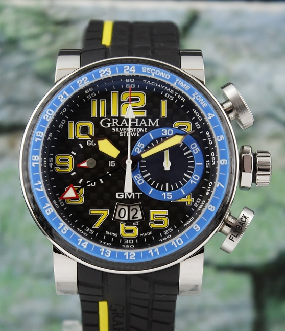 Graham Silverstone Stowe GMT Automatic Watch / 2BLCH.B06A