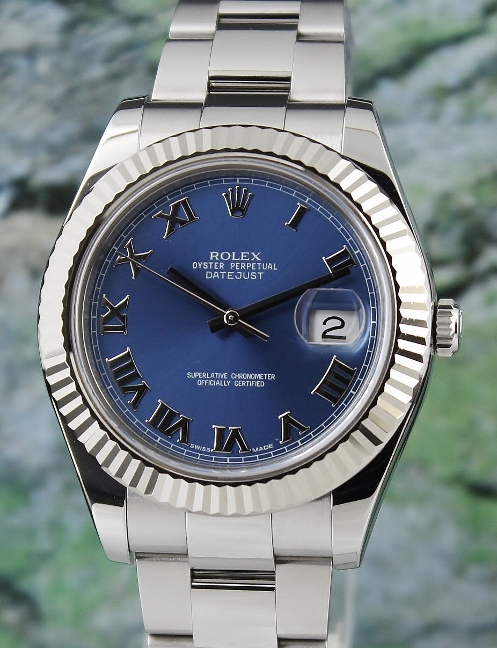 A ROLEX MEN SIZE DATEJUST II OYSTER PERPETUAL - 116334