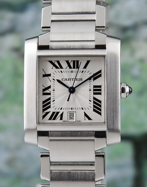 CARTIER TANK FRANCAISE MEN SIZE AUTOMATIC WATCH / 2302