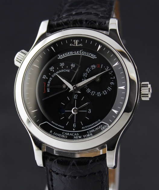 Jaeger LeCoultre Master Geographic Stainless Steel / 142.8.92.S