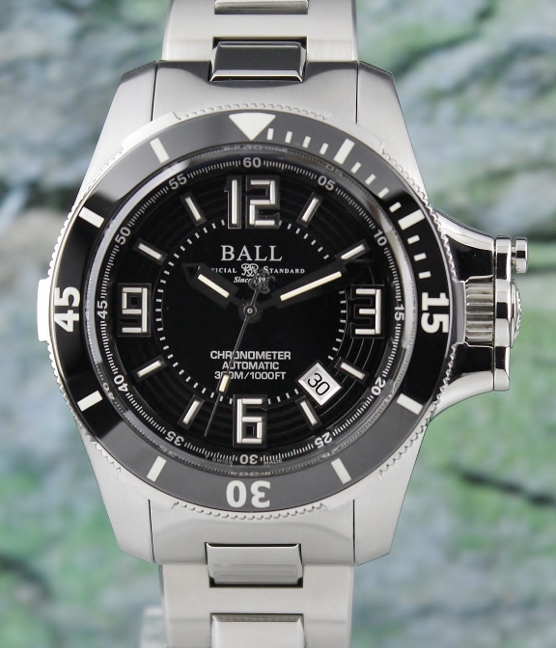 BALL MEN'S ENGINEER HYDROCARBON CERAMIC XV CHRONOMETER AUTOMATIC WATCH / DM2136A