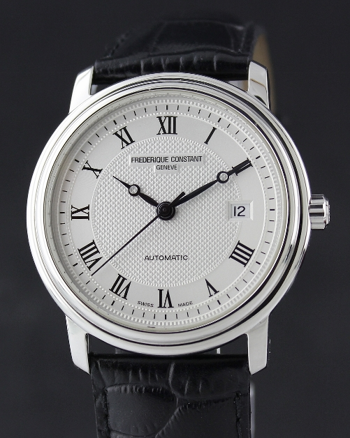 A FREDERIQUE CONSTANT STAINLESS STEEL AUTOMATIC WATCH