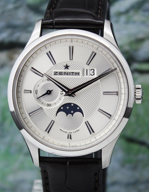 Zenith Captain Moonphase Automatic Watch / 03.2140.691/02.C498