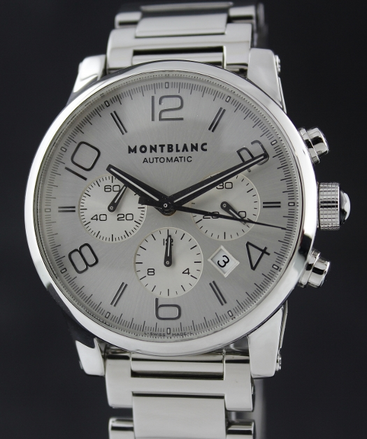 MONTBLANC TIMEWALKER AUTOMATIC CHRONOGRAPH STAINLESS STEEL / 7069