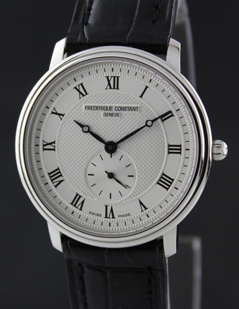 NEW UNWORN FREDERIQUE CONSTANT STAINLESS STEEL WATCH