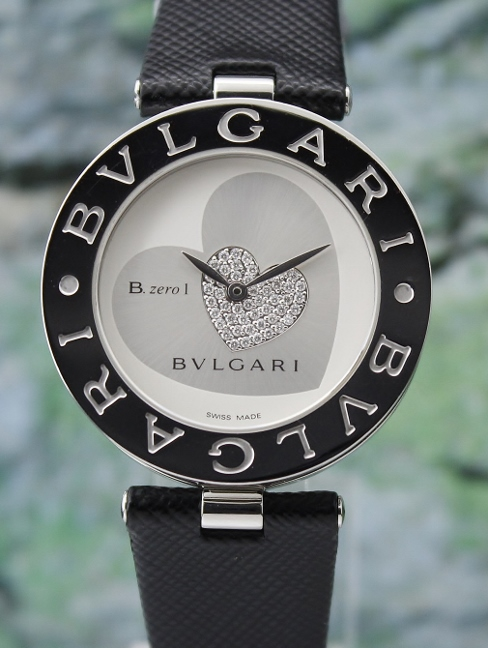 A BVLGARI STAINLESS STEEL B ZERO 1 LADIES HEART / BZ 35 S