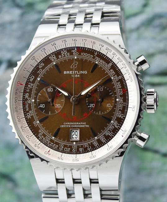 A BREITLING NAVITIMER MONTBRILLANT LEGEND XL WATCH / A23340