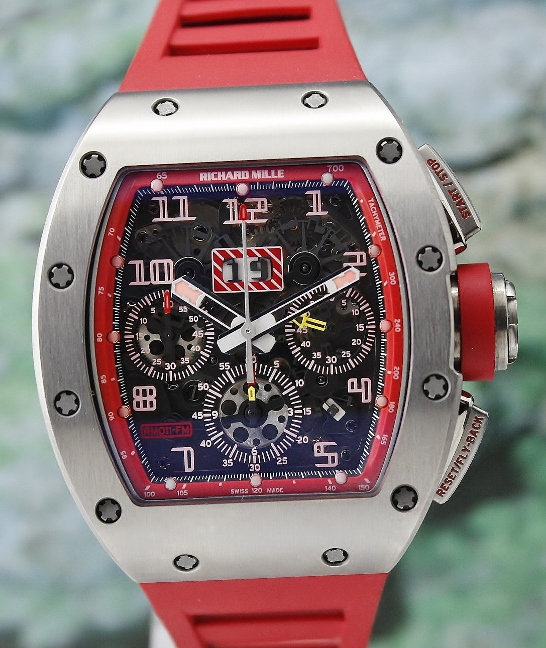 LIKE NEW Richard Mille R11 Felipe Massa Dubail Limited Edition 30 Pieces