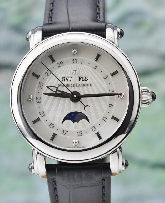 Maurice Lacroix Masterpiece Phase De Lune Watch / MP 6066