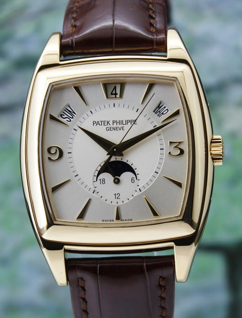 PATEK PHILIPPE ANNUAL CALENDAR MOON PHASE POWER RESERVE/ 5135J