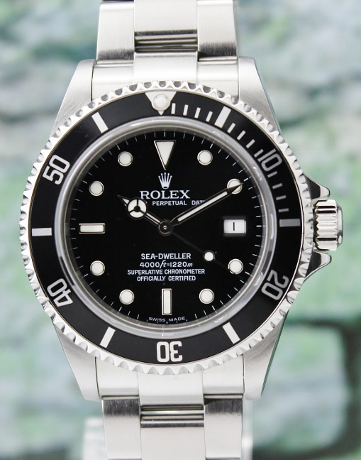 UNPOLISHED ROLEX OYSTER PERPETUAL DATE - SEA DWELLER / 16600