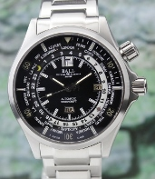 Ball Engineer Master II Diver Worldtimer Automatic Watch / DG2022A-SA-BK