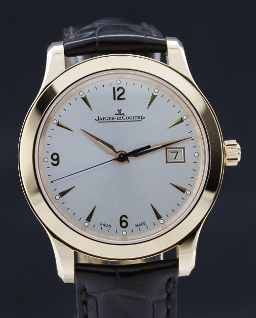 "A LIKE NEW JAEGER-LECOULTRE MASTER CONTROL AUTOMATIC ""PINK GOLD"" / Q1392420"