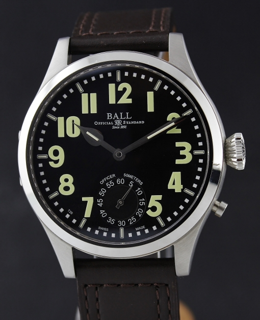 A BALL ENGINEER MASTER II OFFICER AUTOMATIC WATCH / NM2038D