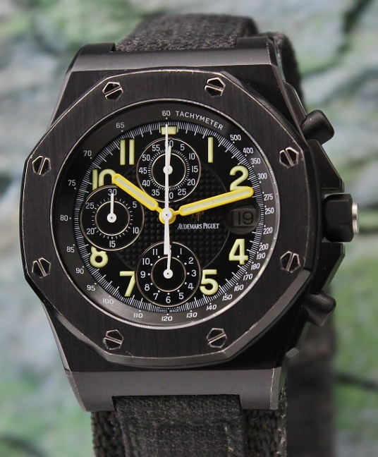 RARE AUDEMARS PIGUET END OF DAYS OFFSHORE ARNOLD SCWARZENEGGER LIMITED EDITION 500 PIECES