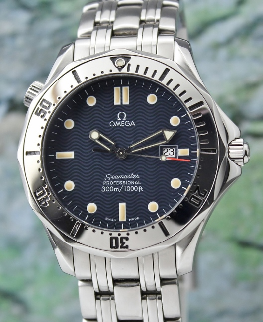 AN OMEGA JUMBO SIZE 42MM STAINLESS STEEL SEAMASTER