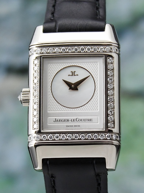LIKE NEW Jaeger-LeCoultre Lady Manual Winding 18K White Gold Reverso / 266.340.443B