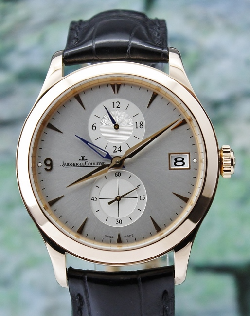 Jaeger Le Coultre 18K Rose Gold Master Control Hometime GMT / 174.2.05.S