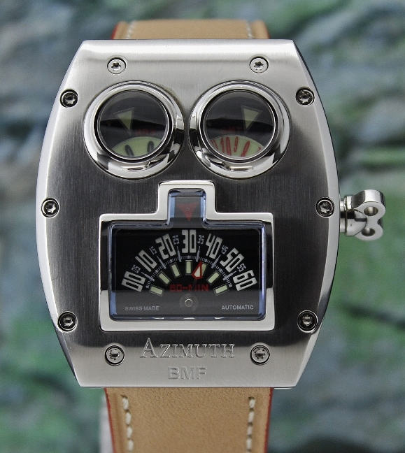 "AZIMUTH STAINLESS STEEL LIMITED ""MR ROBOTO"" WATCH"