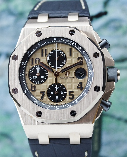 Unpolished Audemars Piguet Royal Oak Offshore Chronograph / 26470OR.OO.A002CR.01
