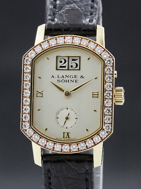 A. LANGE & SÖHNE ARKADE 18K YELLOW GOLD MANUAL WINDING WATCH / 801021