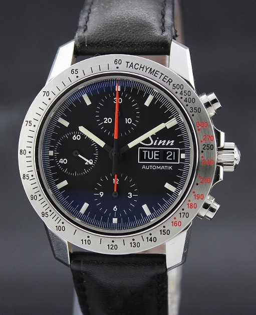 A SINN STAINLESS STEEL CHRONOGRAPH WATCH / 303.010