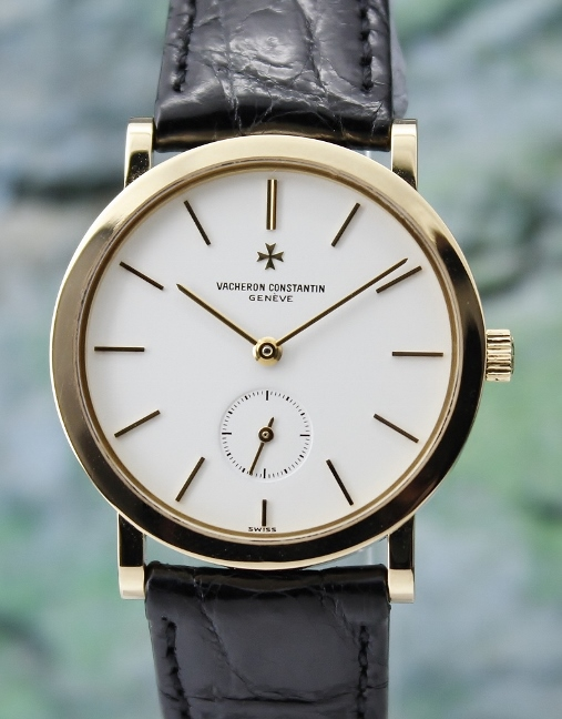 A Vacheron Constantin 18K Yellow Gold Manual Winding Watch