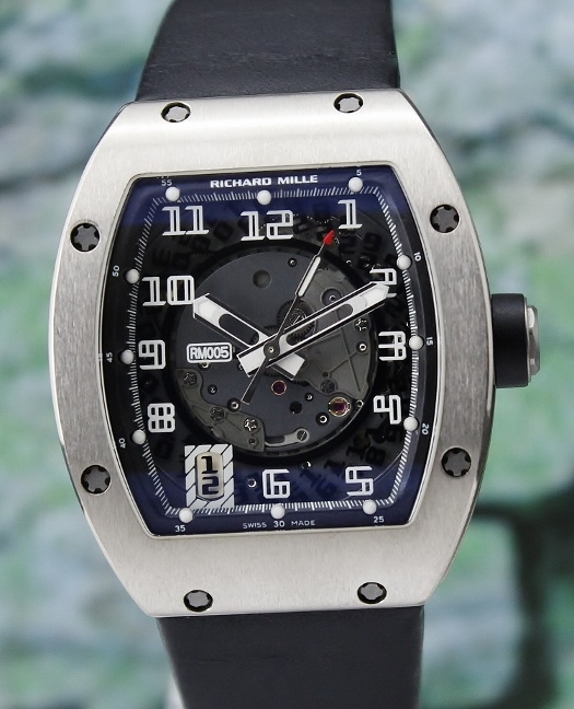 A Richard Mille RM 005 18K White Gold Automatic Watch