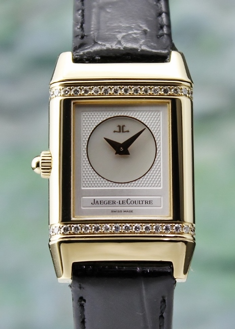 Jaeger-LeCoultre Lady Manual Winding 18K Yellow Gold Reverso