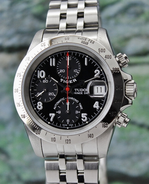 A STAINLESS STEEL TUDOR PRINCE DATE CHRONOGRAPH WATCH (DAYTONA VERSION) / 79280P