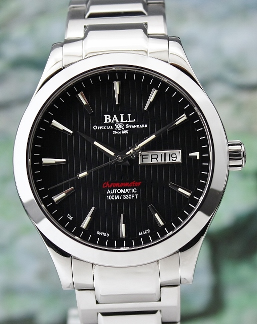 A Ball Engineer II 43mm Red Label Chronometer Automatic Watch / NM2028C