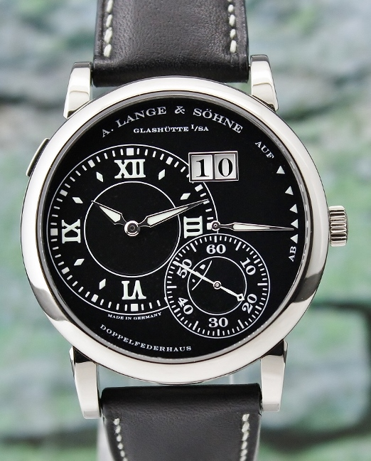 A.Lange & Sohne 18K White Gold Manual Winding Grand Lange 1 / 115.029