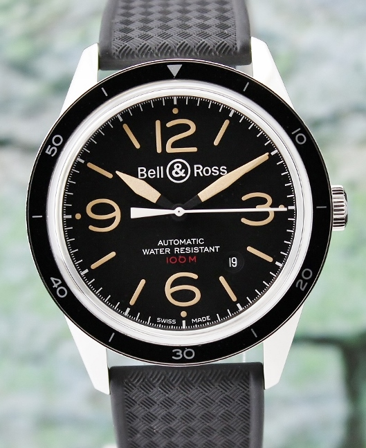 UNWORN BELL & ROSS Stainless Steel Automatic Sport Heritage / BR 123-92