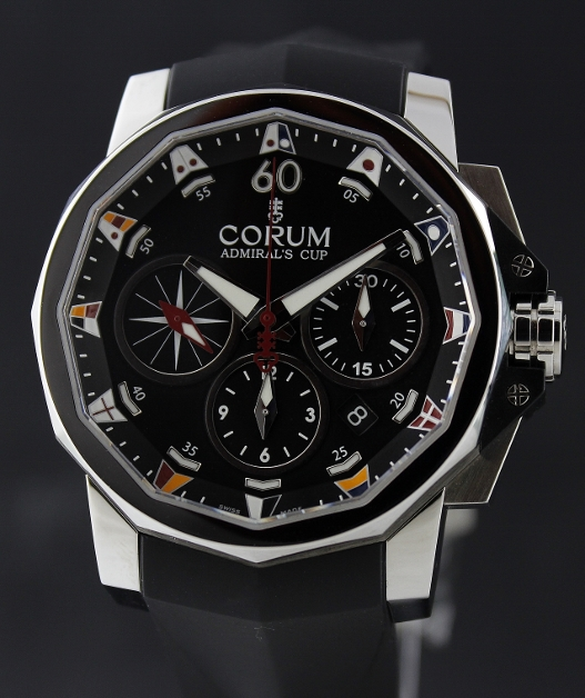 BRAND NEW CORUM ADMIRAL'S CUP CHRONOGRAPH 44MM / 01.0007