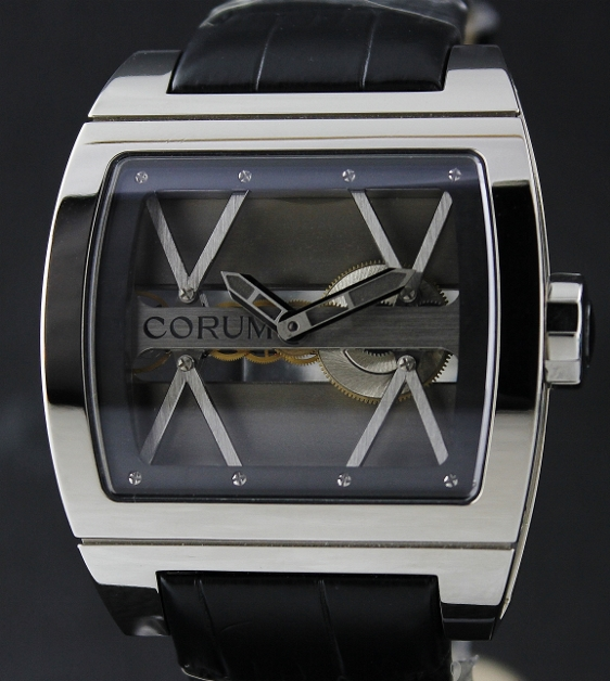 LIKE NEW CORUM TI-BRIDGE SKELETON DIAL / 05.0040