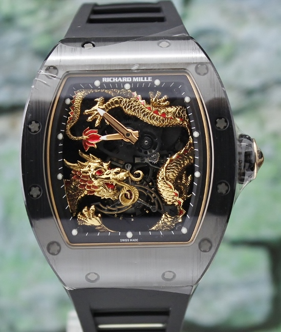 NEW Unworn Richard Mille RM057 Tourbillon Dragon - Jackie Chan