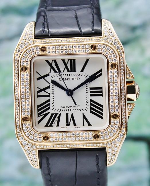 Cartier мужские часы, оригинал