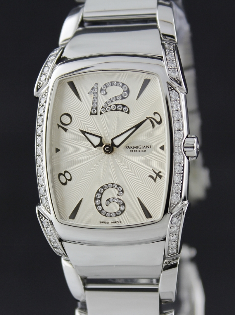Parmigiani Fleurier Kalpa Donna Steel Watch / PF010327-02